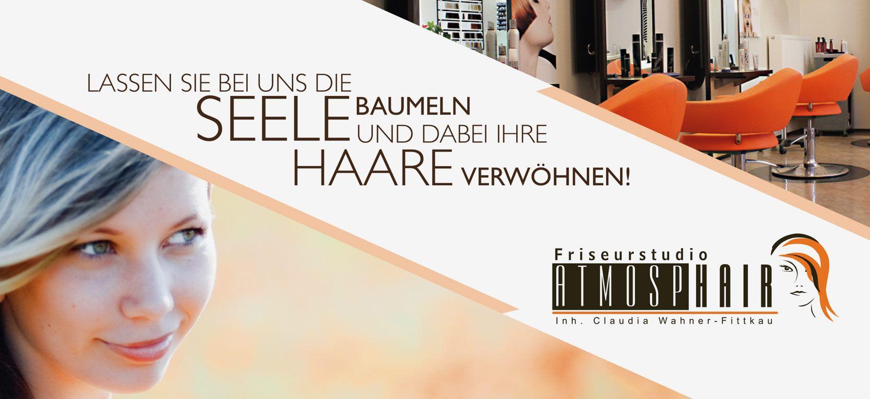 Friseurstudio AtmospHair | Corporate Design entwickelt von StatusZwo.com