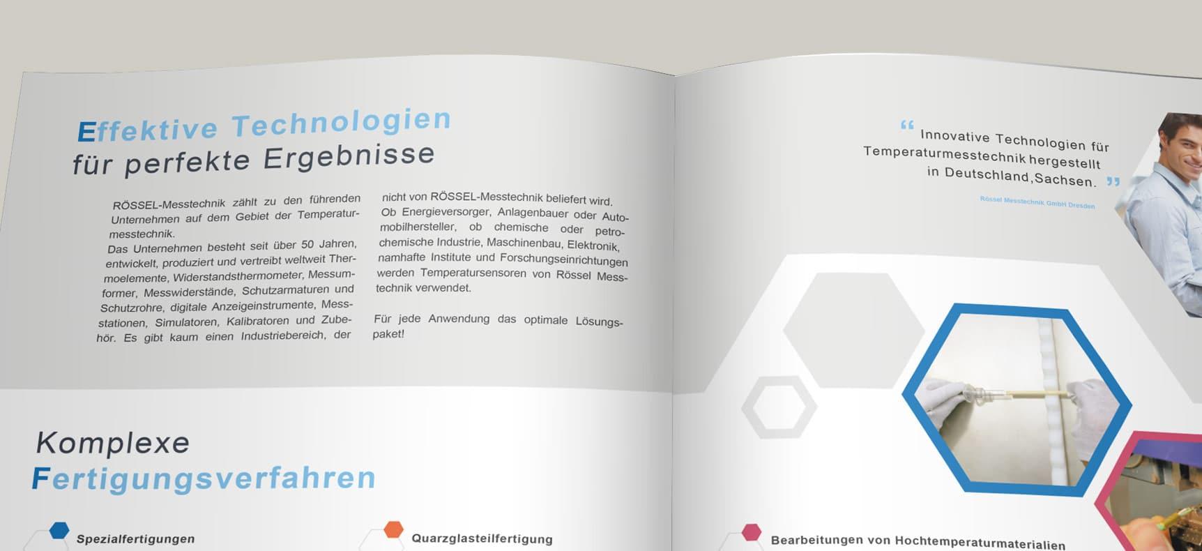 RÖSSEL MESSTECHNIK DRESDEN | IMAGEBROSCHÜRE erstellt von StatusZwo.com