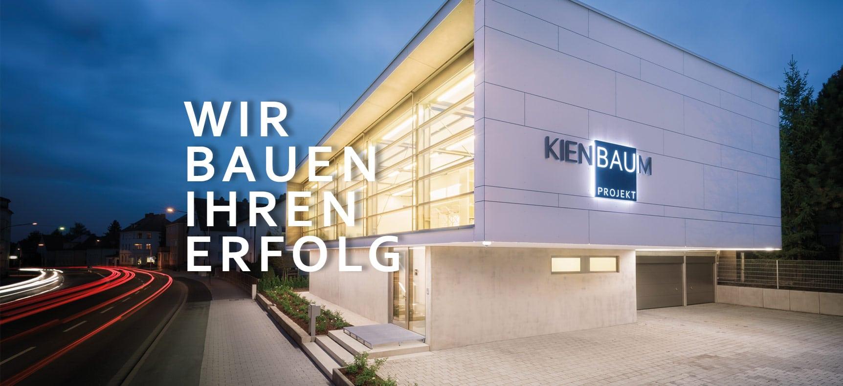Bau-Projekt Kienbaum | Geschäftsausstattung erstellt von StatusZwo.com
