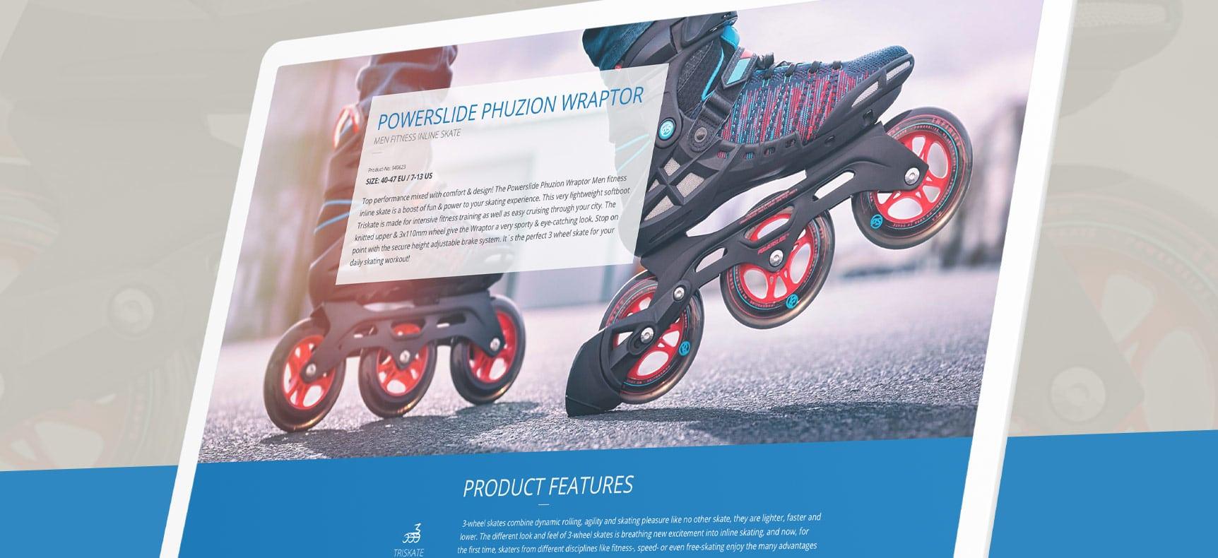 Powerslide Sportartikel GmbH | Website erstellt von StatusZwo.com