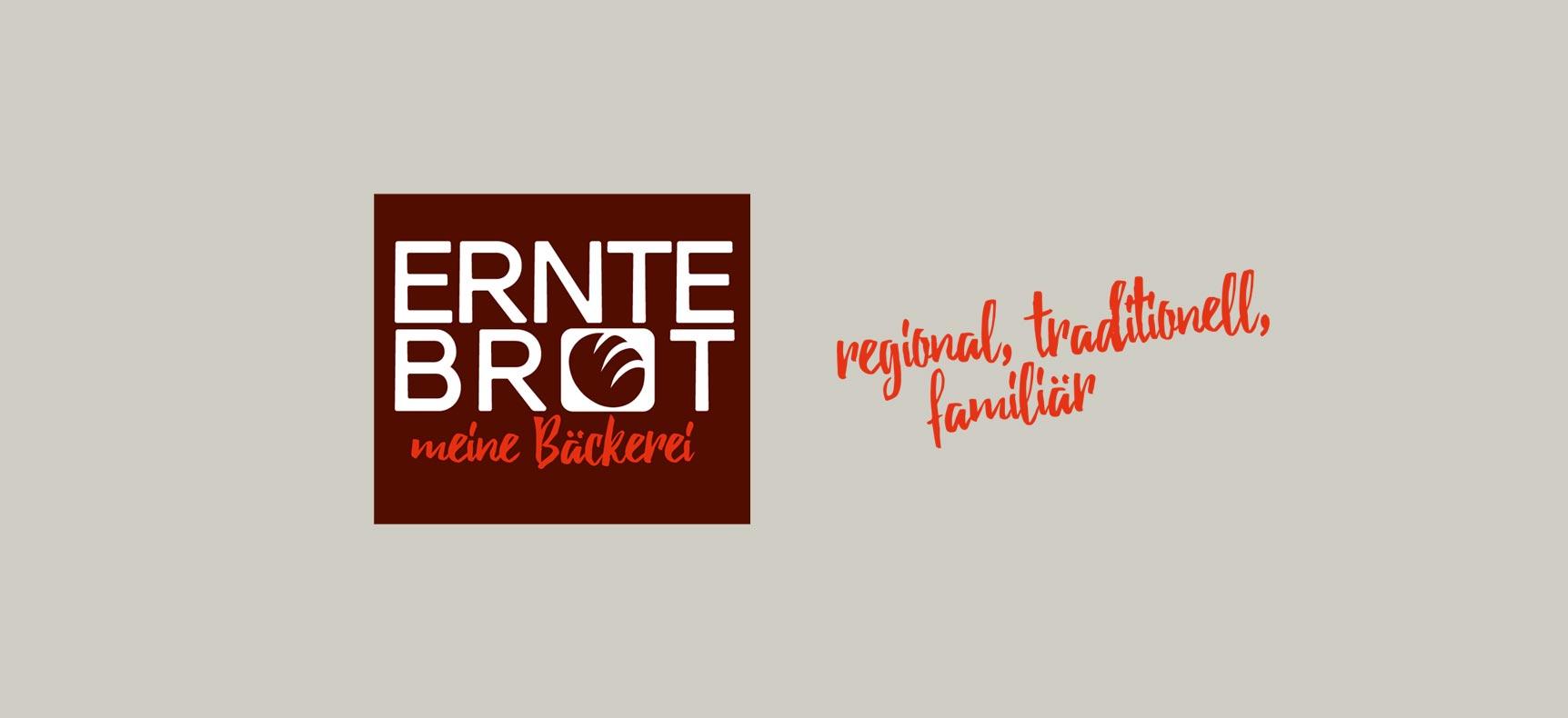 Bäckerei Erntebrot | Corporate Design entwickelt von StatusZwo.com