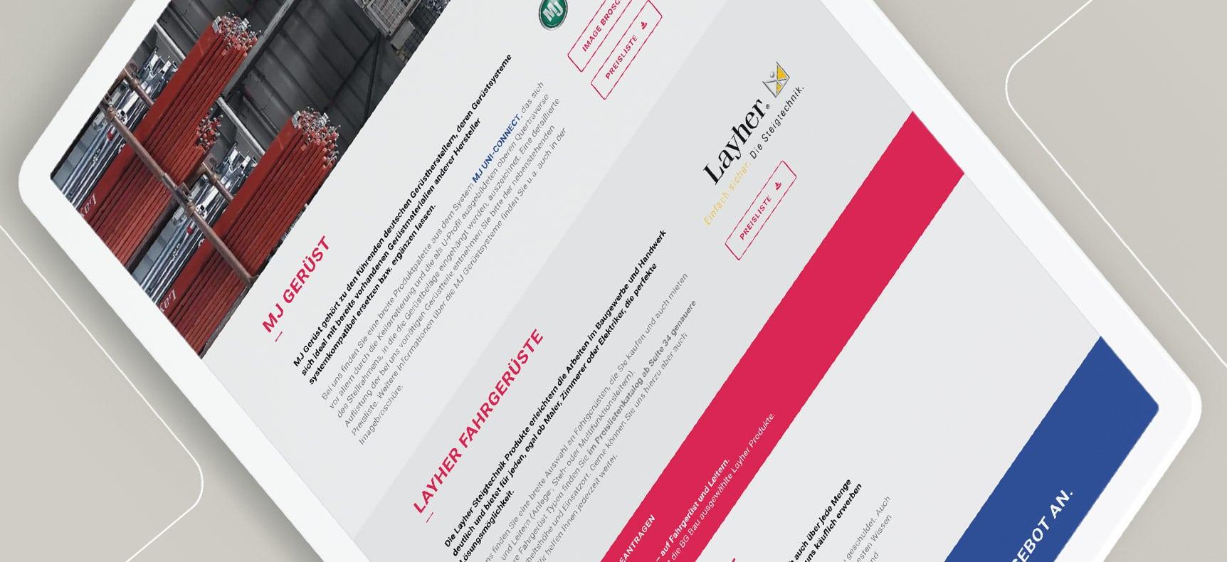 Helmut Kirsch GmbH - Landingpage erstellt von Statuszwo.com