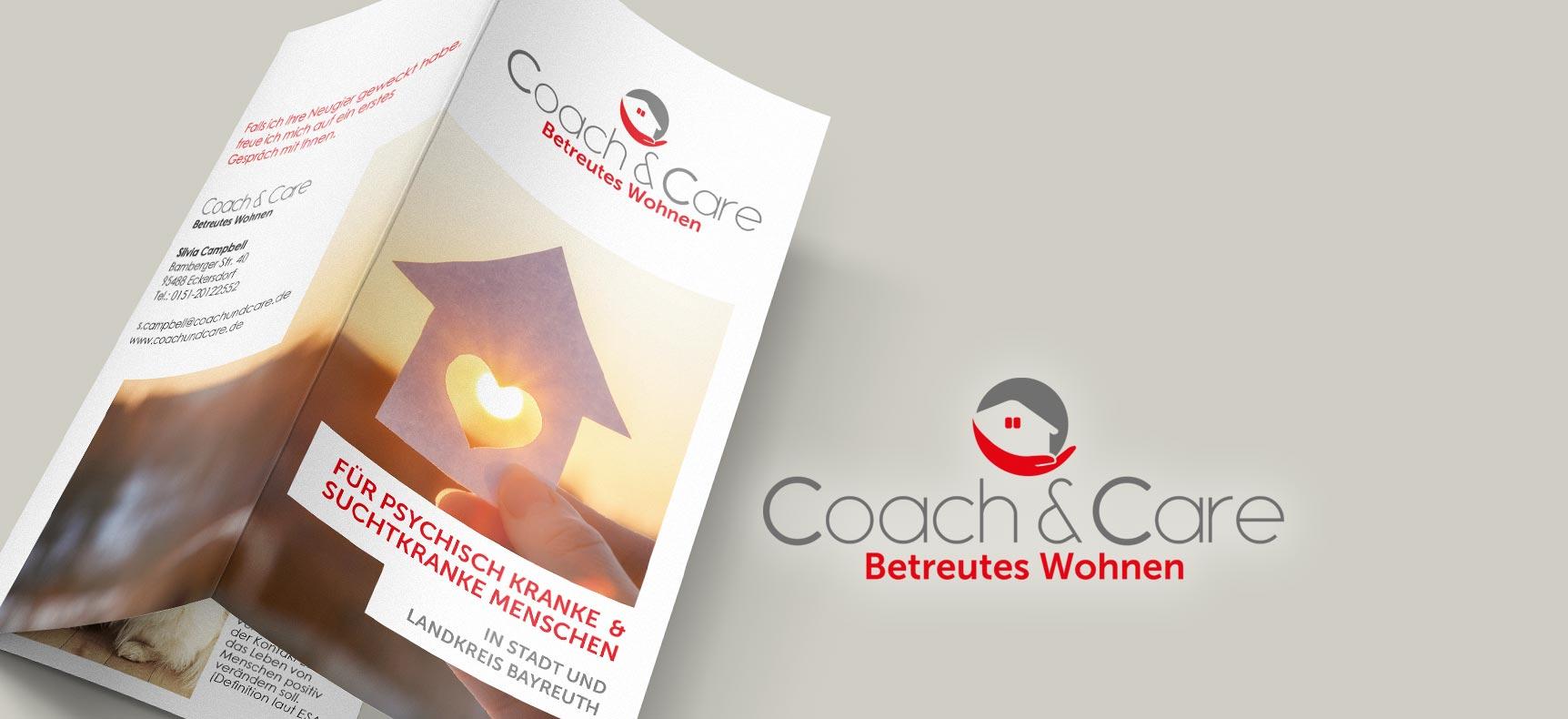 Coach&Care Betreutes Wohnen | Corporate Design gestaltet von StatusZwo.com