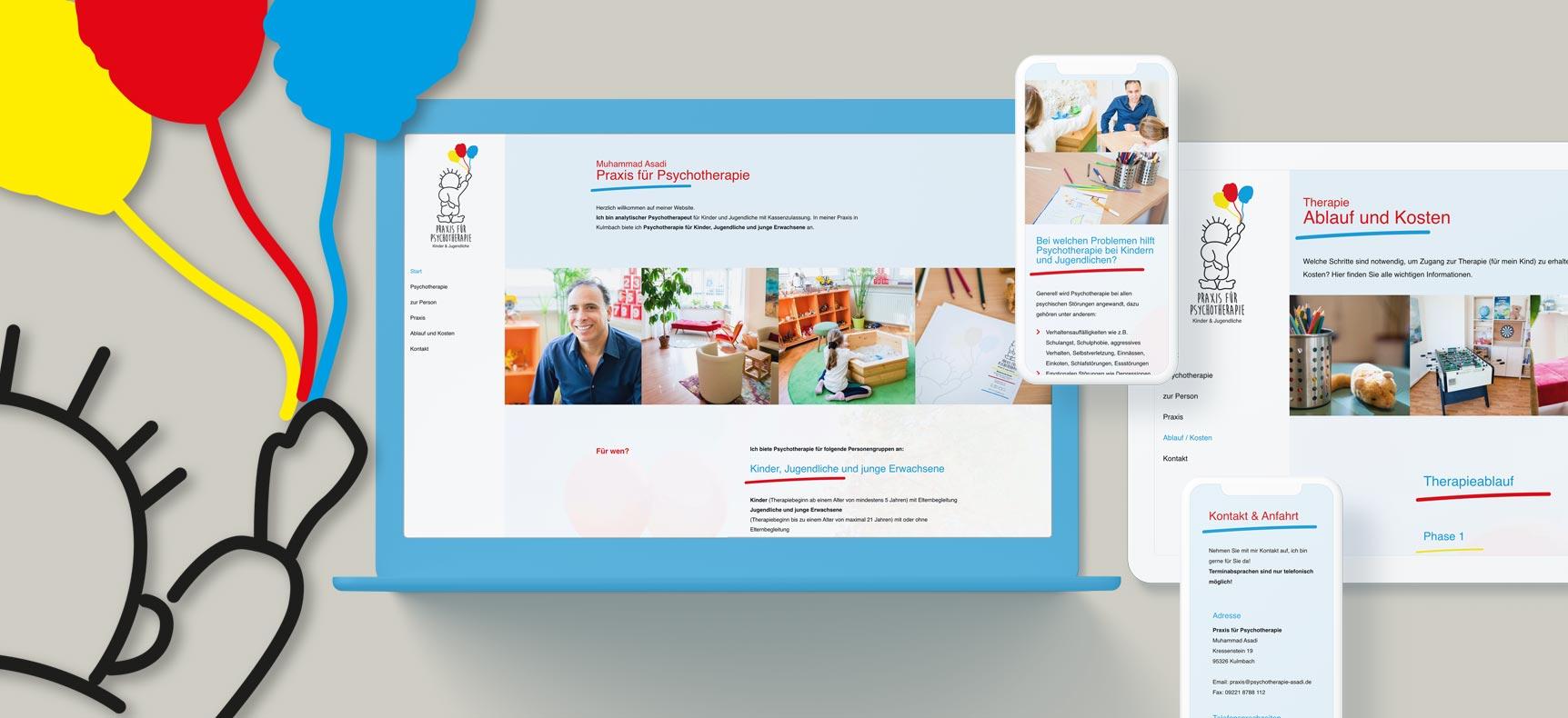 Psychotherapie Praxis Asadi Kulmbach | Website erstellt von StatusZwo.com
