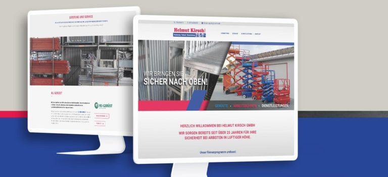 Helmut Kirsch GmbH - Arbeistbühnenverleih | Website erstellt von StatusZwo.com