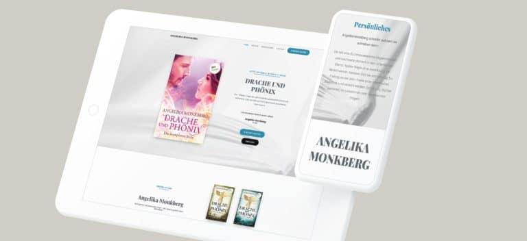 Autorin Angelika Monkberg | Website erstellt von StatusZwo.com