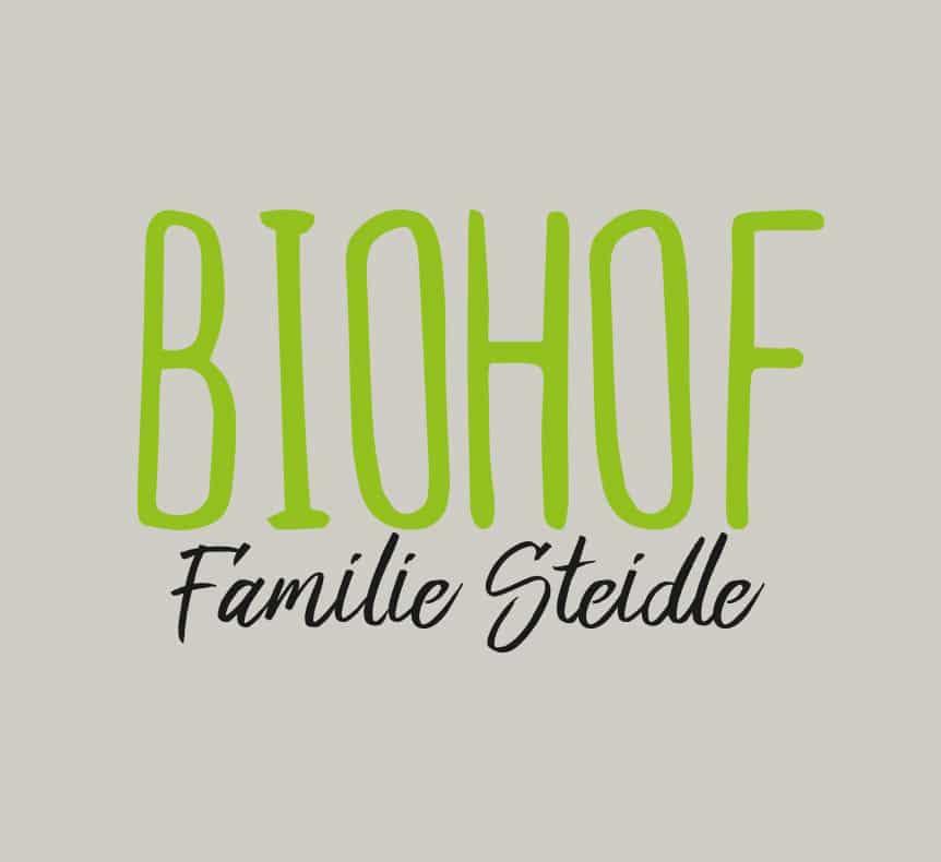 Biohof Steidle | Logo erstellt von StatusZwo.com