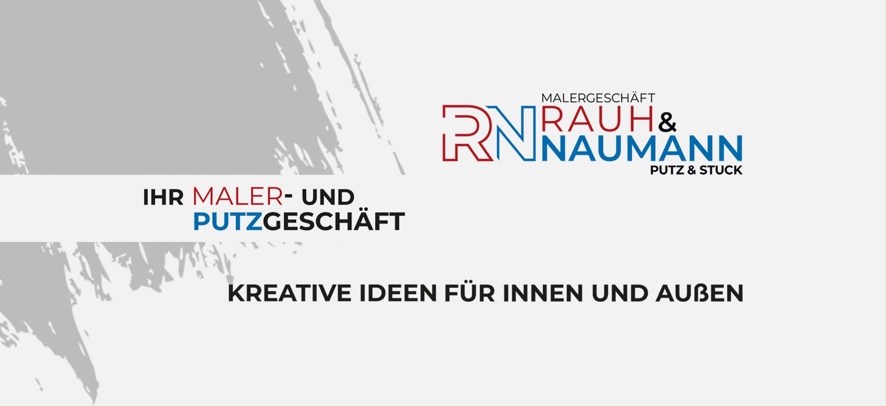 Malergeschäft Rauh-Naumann | Corporate Design gestaltet von StatusZwo.com