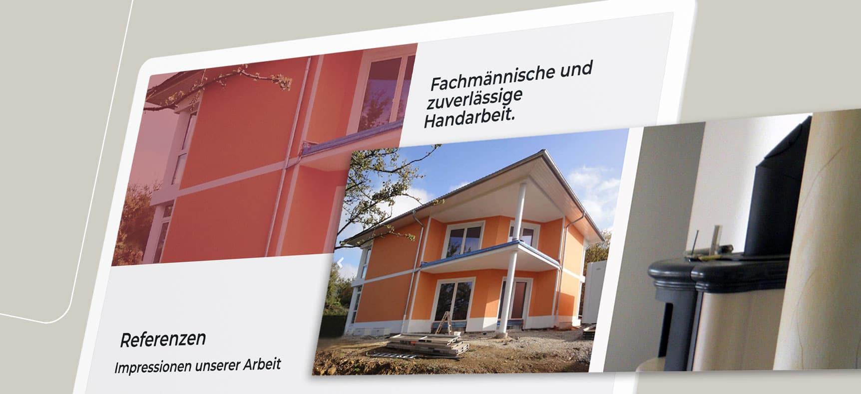 Malergeschäft Rauh & Naumann | Website erstellt von StatusZwo.com