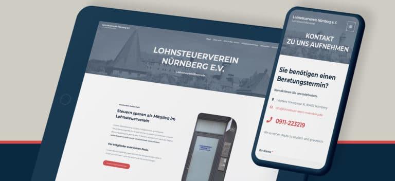 Lohnsteuerverein Nürnberg e.V. | Website erstellt von StatusZwo.com