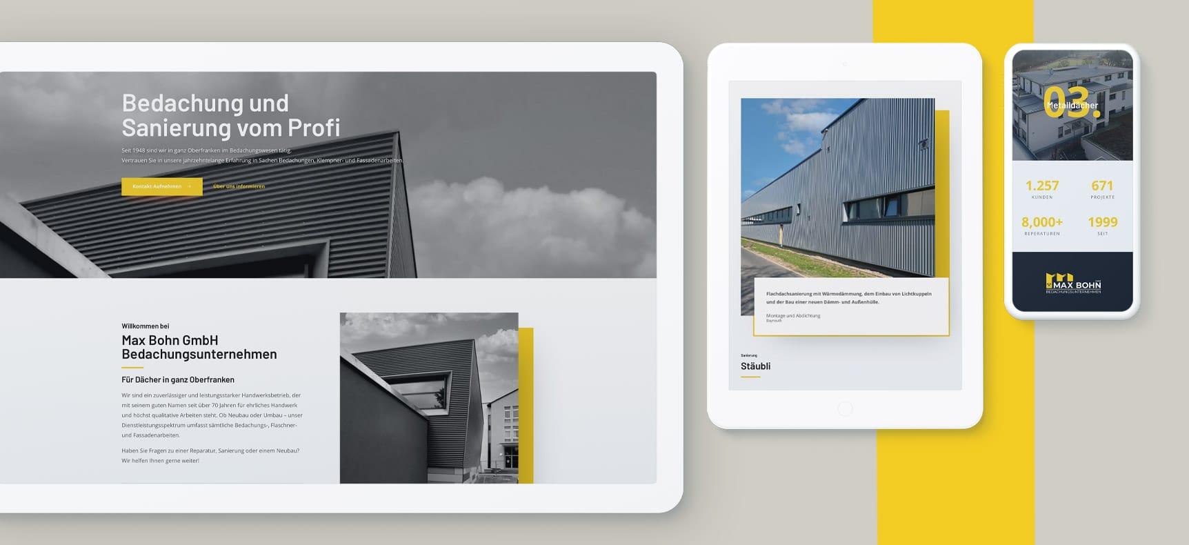 Max Bohn GmbH | Website erstellt von StatusZwo.com