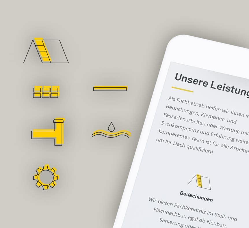 Max Bohn GmbH | Icon Gestaltung erstellt von StatusZwo.com