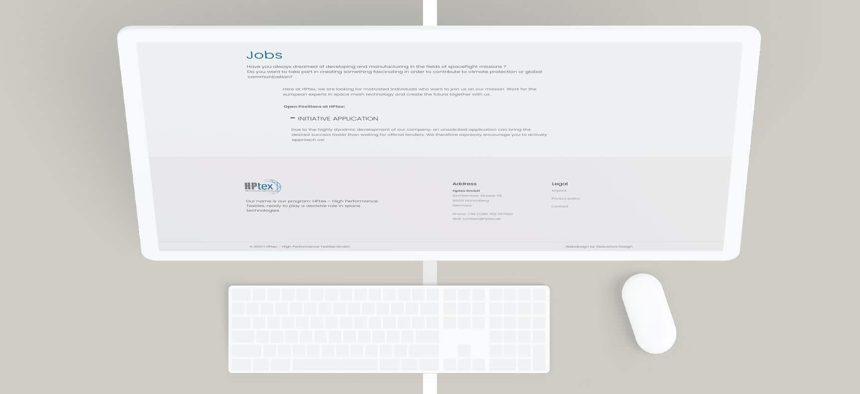 HPtex GmbH   Website erstellt von StatusZwo.com
